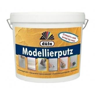 Штукатурка Dufa Modellierputz 15 кг белый