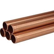Труба медная 8х1 мм 4 м М1 мягкая