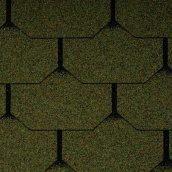Битумная черепица Icopal Plano Nova 1000х333 мм зеленый лес