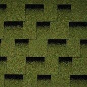 Битумная черепица Icopal Plano Claro 1000х317 мм зеленый лес