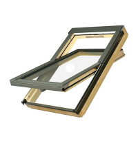 Мансардне вікно FAKRO FTS-V U2 обертальне 66x118 см