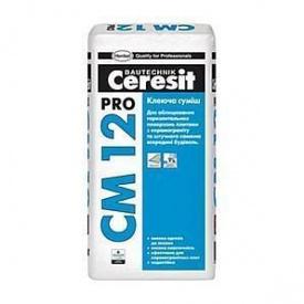 Клейова суміш для плитки Ceresit CM 12 pro 27 кг