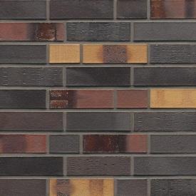 Клінкерна облицювальна цегла Muhr Klinker LI - NF 40 Kobalt spezial geflammt 240x115x71 мм
