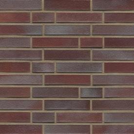 Клінкерна облицювальна цегла Muhr Klinker LI - DF 10 Violettblau geflammt glatt 240x115x52 мм