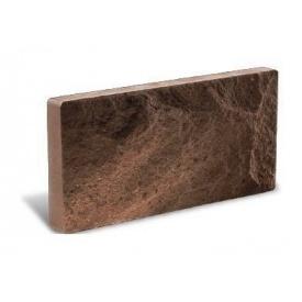 Фасадна плитка Літос Цокольна 250x18x100 мм шоколад