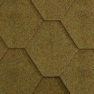 Бітумна черепиця Icopal Plano Natur 1000х317 мм зелений ліс