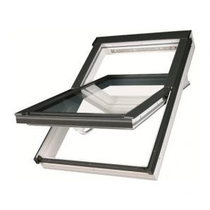 Мансардне вікно FAKRO PTP-V U3 обертальне вологостійке 114x118 см