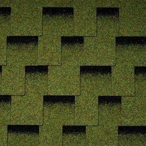 Бітумна черепиця Icopal Plano Claro 1000х317 мм зелений ліс