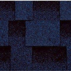 Битумная черепица Kerabit L Квадро синяя