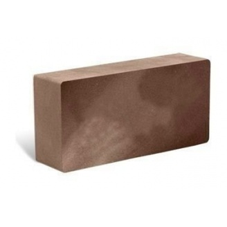 Облицовочный кирпич Литос Гладкий полнотелый 250x120x65 мм шоколад