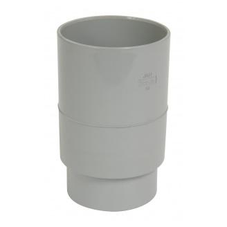Муфта водостічної труби Nicoll 25 ПРЕМІУМ сірий