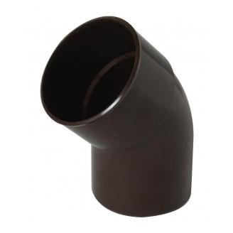 Відвід одномуфтовий Nicoll 45° коричневий