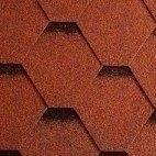 Битумная черепица Icopa lGonty Orla Трапеция 1000*317 мм коричневая тучка