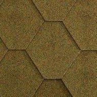 Битумная черепица Icopal Gonty Orla Прямоугольник 1000*317 мм Серый