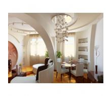 Устройство арки из гипсокартонных листов