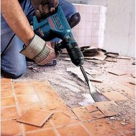 Демонтаж плитки з підлоги