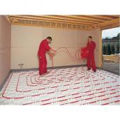 Укладання теплої підлоги в дачному будинку