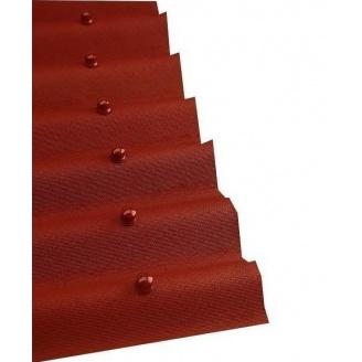Лист покрівельний Onduline 950х2000 мм червоний