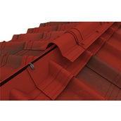 Конек модельный сборный Onduvilla 1060x194 мм красный классик