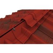 Конек модельный сборный Onduvilla 1060x194 мм красный 3D