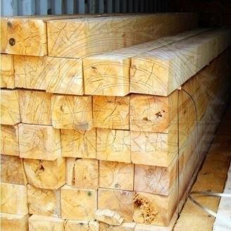 Брус сосновый SUNRISE Ltd 100х200 мм 1 м свежепиленный