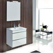 Зеркало DEVIT Country 600х700 мм белый (5110125)