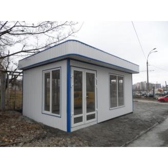 Строительство модульного быстровозводимого магазина