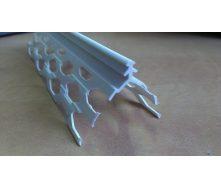 Уголок для мокрой штукатурки ПВХ 50/50 мм 3 м