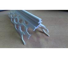 Уголок для мокрой штукатурки пластиковый 2,5 м