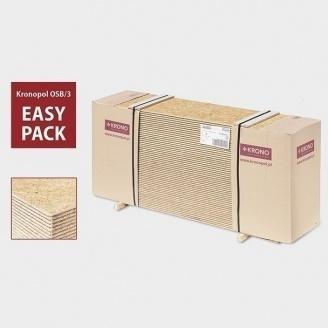 Плита Kronopol OSB-3 18х525х2050 мм Easy Pack гребень-паз
