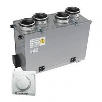 Приточно-вытяжная установка VENTS ВУТ 300 В мини (РС) 300 м3/ч 116 Вт