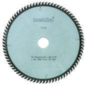 Диск циркулярный METABO HW/CT 250x30 80FZ/TR 250х30 мм (628088000)
