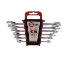 Набор рожковых ключей Intertool 8 элементов 6-22 мм (HT-1002)
