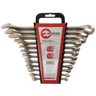 Набор комбинированных ключей Intertool 12 элементов 6-22 мм (HT-1203)