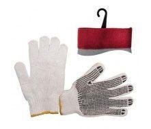 Перчатки Intertool белые (SP-0005)