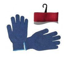 Перчатки Intertool синие (SP-0104)