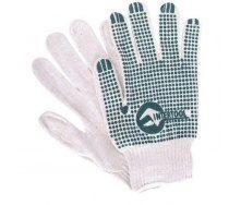 Перчатки Intertool белые (SP-0133)