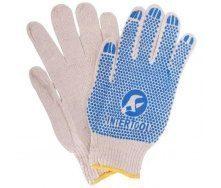Перчатки Intertool белые (SP-0134)