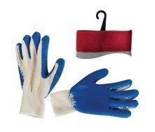 Перчатки Intertool синие (SP-0008)