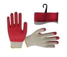 Перчатки Intertool красные (SP-0010)