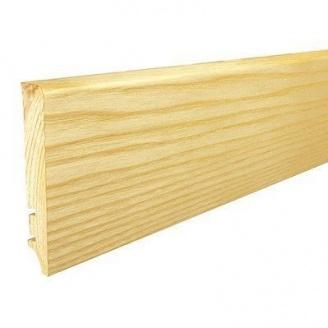 Плинтус деревянный Barlinek P61 Ясень 90х16х2200 мм