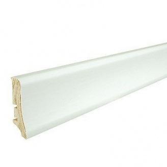 Плинтус деревянный Barlinek P20 покрыт белой пленкой 58х20х2200 мм