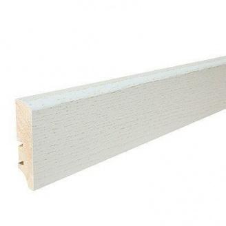 Плинтус деревянный Barlinek P50 Дуб Рearl 60х16х2200 мм