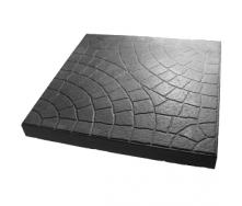 Плитка тротуарна Сегмент 300х300х30 мм сіра