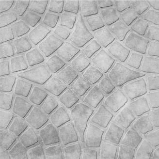 Плитка тротуарна Радіус 300х300х30 мм сіра