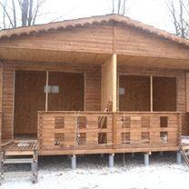 Деревянные дома и постройки
