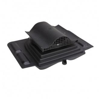 Кровельный вентиль VILPE PELTI-KTV 355х460 мм черный