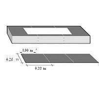 Плитка гребень-карниз Katepal Foxy 20 м світло-сіра