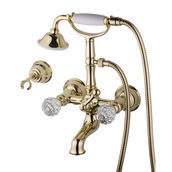 Смеситель для ванны DEVIT Charlestone золото (CN60012102G)
