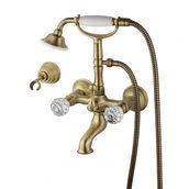 Смеситель для ванны DEVIT Charlestone бронза (CN60012102B)